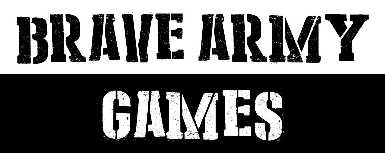 Brave Army Games Logo
