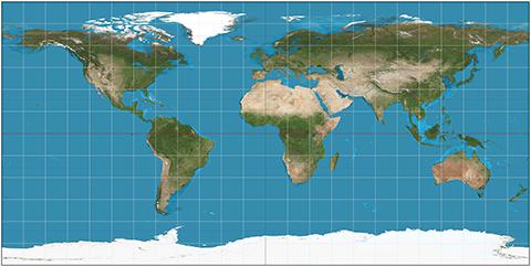 Equirectangular Map