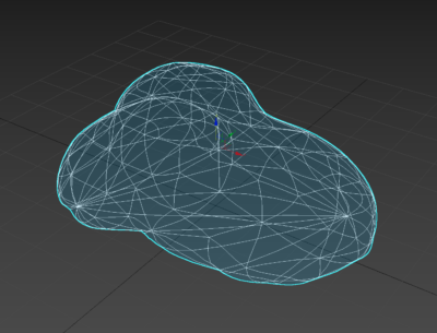Mesh Smoothed Blob