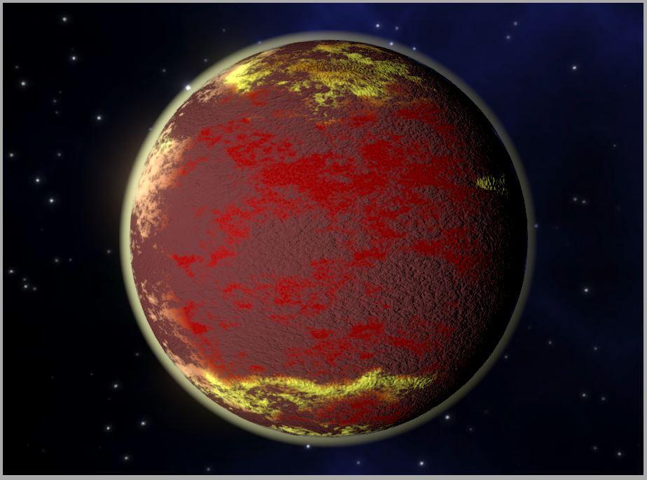 Molten Planet
